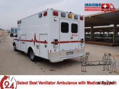 Avail Nonpareil Medical Facility Cardiac Ambulance Service in Gaya