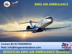 Advanced ICU Setup Air Ambulance Service in Lucknow by King Ambulance