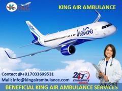 Air Ambulance Service in Varanasi with Medical Facility-King Ambulance