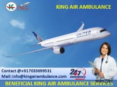 Profitable Air Ambulance Service in Bhopal with Doctor-King Ambulance