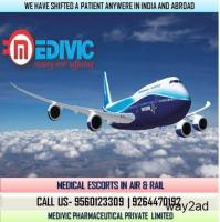 Select 24 Hrs Moving Service by Medivic Air Ambulance from Ranchi to Delhi