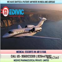 Take Unique Medical Care by Medivic Air Ambulance from Siliguri to Delhi