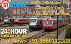 Take Top-Class Medical Care by Medivic Train Ambulance Service in Patna