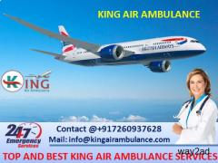 Take Special Air Ambulance in Dibrugarh at Low-Fare by King Ambulance
