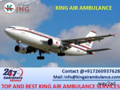 Take Advanced Air Ambulance in Siliguri with MD Doctor by King Ambulance