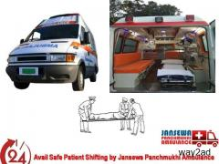 Get Exceptional Road Ambulance Service in Patna at Normal Rate