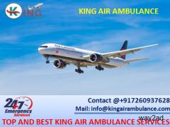 Air Ambulance in Varanasi with Full Medical Support by King Ambulance