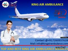 Hi-tech ICU Setup Air Ambulance in Lucknow at Low Cost – King Ambulance