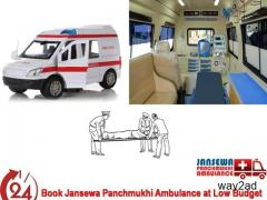 The Finest Road Ambulance Service in Darbhanga at Cheap Price