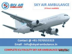 Air Ambulance in Delhi with Full Medical Support by Sky Ambulance