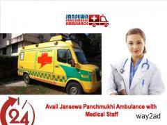 Get Comfortable Journey of Patient from Madhubani by Jansewa Panchmukhi Ambulance