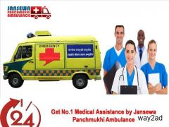 Incredible CCU Road Ambulance Service in Patna  at Low Cost
