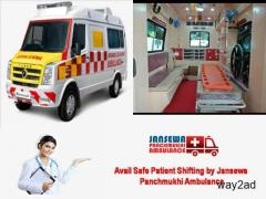 Choose India's Best Road Ambulance Service in Ranchi