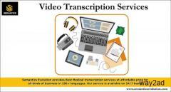 Video Transcription Services | Best Medical Transcription Services