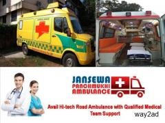 Choose Best Cardiac Ambulance Service in Jamshedpur at Low Cost