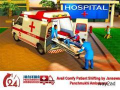 Get Fastest Patient Transfer by Jansewa Panchmukhi Ambulance in Tatanagar