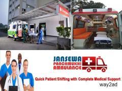 Take Wonderful Healthcare Facility by Jansewa Panchmukhi Ambulance in Ramgarh