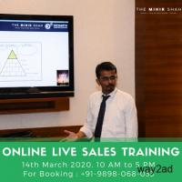 Online Live Sales Training Programs - 14-March 2020