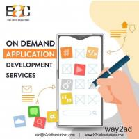 Best Mobile App Development Company for On- Demand Applications