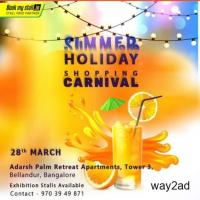 Summer Holiday Shopping Carnival at Bangalore - BookMyStall