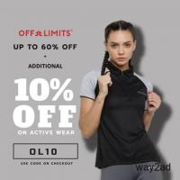 Buy Running Apparels Online in India women from Off limits online