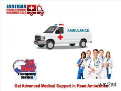Get Fastest Emergency Road Ambulance Service in Railway Station
