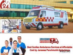Receive Top-Rated ICU Ground Ambulance Service in Hatia