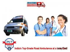 Take On Rent Ground Ambulance Service in Bokaro