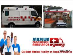Receive Road Ambulance Service in Gaya with CCU Facility