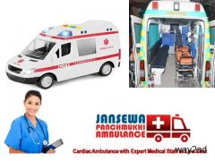 Select Hi-Rated ALS Ambulance Service in Karolbagh