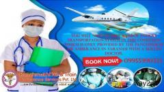 Take Best Air and Train Ambulance from Varanasi – Panchmukhi