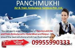 Panchmukhi Charter Air Ambulance Service in Hyderabad at Low-Cost