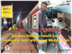 Best Air Ambulance from Varanasi by Panchmukhi