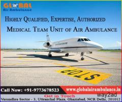 Clear accountability by Global Air Ambulance in Kolkata