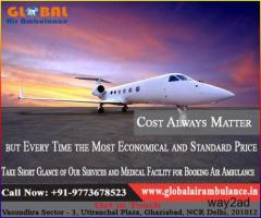 Responsibility expressed by Global Air Ambulance in Guwahati