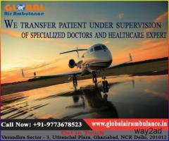 Sensitive charge by Global Air Ambulance in Ranchi