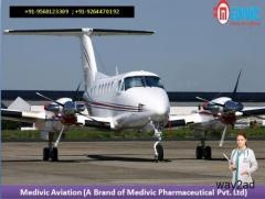 Medivic Air Ambulance Service in Ranchi Modern Medical Equipment Present