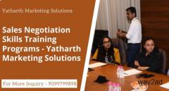 Sales Negotiation Skills Training Programs - Yatharth Marketing Solutions