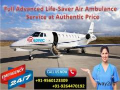 Medivic Air Ambulance in Bhopal Round The Clock Existing To Shift Patient