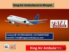 Top-Ranking Performance by King Air Ambulance Service in Bhopal