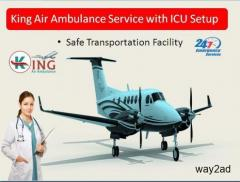 Pro-Eminent Healthcare by King Air Ambulance Service in Jabalpur