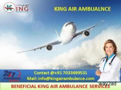 Pick King Air Ambulance Service in Nagpur with Versed Medical Team