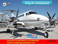 Now Book Discountable Price by King Air Ambulance Service in Raipur