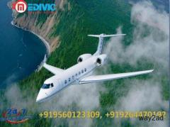 Hire India Best and Fast Air Ambulance in Chennai by Medivic