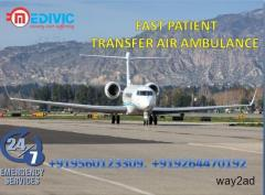 Book ICU Facility Air Ambulance in Bangalore with Doctor