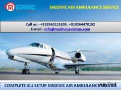 Get Instant Patient Transfer Air Ambulance in Hyderabad by Medivic
