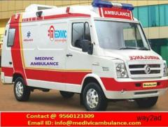 Oxygen Ambulance Service in Patna- Medivic Road Ambulance in Patna