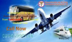 Best Emergency Services in Panchmukhi Air Ambulance in Indore