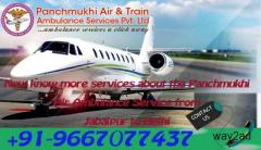 Advanced ICU Service in Panchmukhi Air Ambulance in Jabalpur