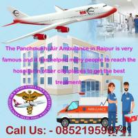 Bed to Bed medical Care in Panchmukhi Air Ambulance in Raipur